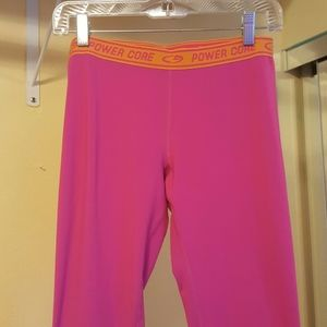 Champion bright pink leggings sz M